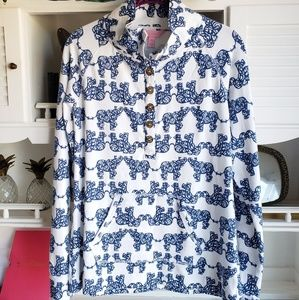Lilly Pulitzer Elephant Captain Popover Size M